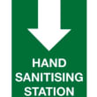 SISY354 SIGN - HAND SANITISING STATION - POLY 300X225MM