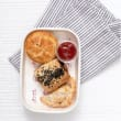 Pie & sausage roll finger food box