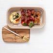 Quiche breakfast box