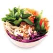 Tofu & papaya salad bowl