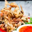 Crispy soft shell crab (DF)