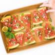 Watermelon, feta & mint