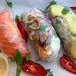 Rice paper rolls (3 pcs)