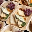 Individual cheese plate