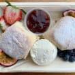 Scones with jam & cream
