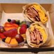Gourmet brekkie box
