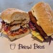 Individual gourmet sandwich/wrap