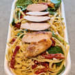 Chicken pesto pasta salad (750ml)