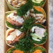 Gourmet wraps platter