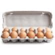 Free range eggs (700g) (12)