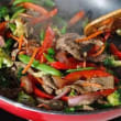 Beef Stir Fry With Steamed Rice