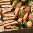 Rushcutters Bay - Mixed sandwiches and rolls box (24)