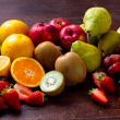 Whole seasonal fruit box (12)