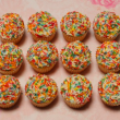 Happy Birthday mini cupcakes (12 pcs)