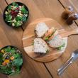 Assorted gourmet sandwiches & salads