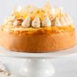 Caramel Macadamia cheesecake