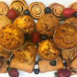 Assorted muffins & Danishes (pp)