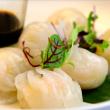 Prawn & bamboo dumplings