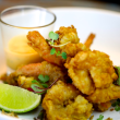 Salt & pepper prawns