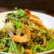 Scallop & prawn salad
