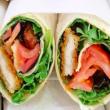 Panko Chicken Press sandwich