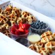 Wo Wo's mini waffles