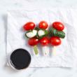 Tomato & bocconcini skewer