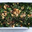 Kale, quinoa & grape salad