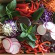 Spiced Breaded Chicken Salad