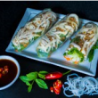 Chicken rice paper rolls (3pcs)