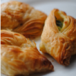 Cheese & spinach pastizzi