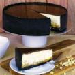Caramel salted peanut cheesecake