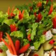 BBQ pork salad wrap (DF)