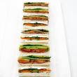 Ribbon sandwiches (3 pcs)