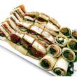 Mixed breads platter