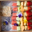 Mini fruit skewers (3pcs)