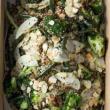 Lemon chicken & kale salad