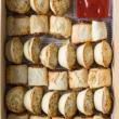 Gourmet pies & rolls platter