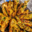 Chermoula chicken skewers