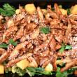 Teriyaki Chicken, Tofu & Asian Green Salad