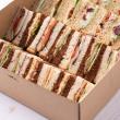 Classic triangle sandwiches