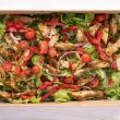 Chimichurri chicken & avocado salad