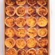 Bake 'n bite mini quiche platter (24)