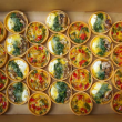 Gourmet Quiches (28 pcs)