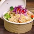 Cashew nut fried rice - platter