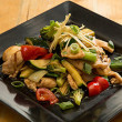 Ginger and shallot stir fry (DF)