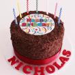 Chocolate flake cake