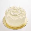 White chocolate flake cake