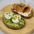 Avocado, feta & egg on toast