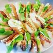 Assorted gourmet baguettes (2 pp) (H)